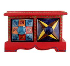 Two Drawers Spice Box