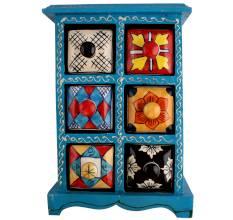 Six Drawers Spice Box