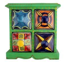Four Drawer Spice Box