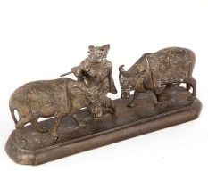 Bronze Krishna & Vishnuji
