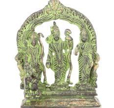 Bronze Ram & Hanuman