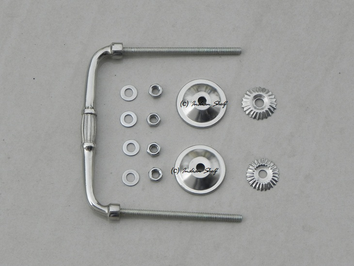 Silver Bridge Handle Fitting