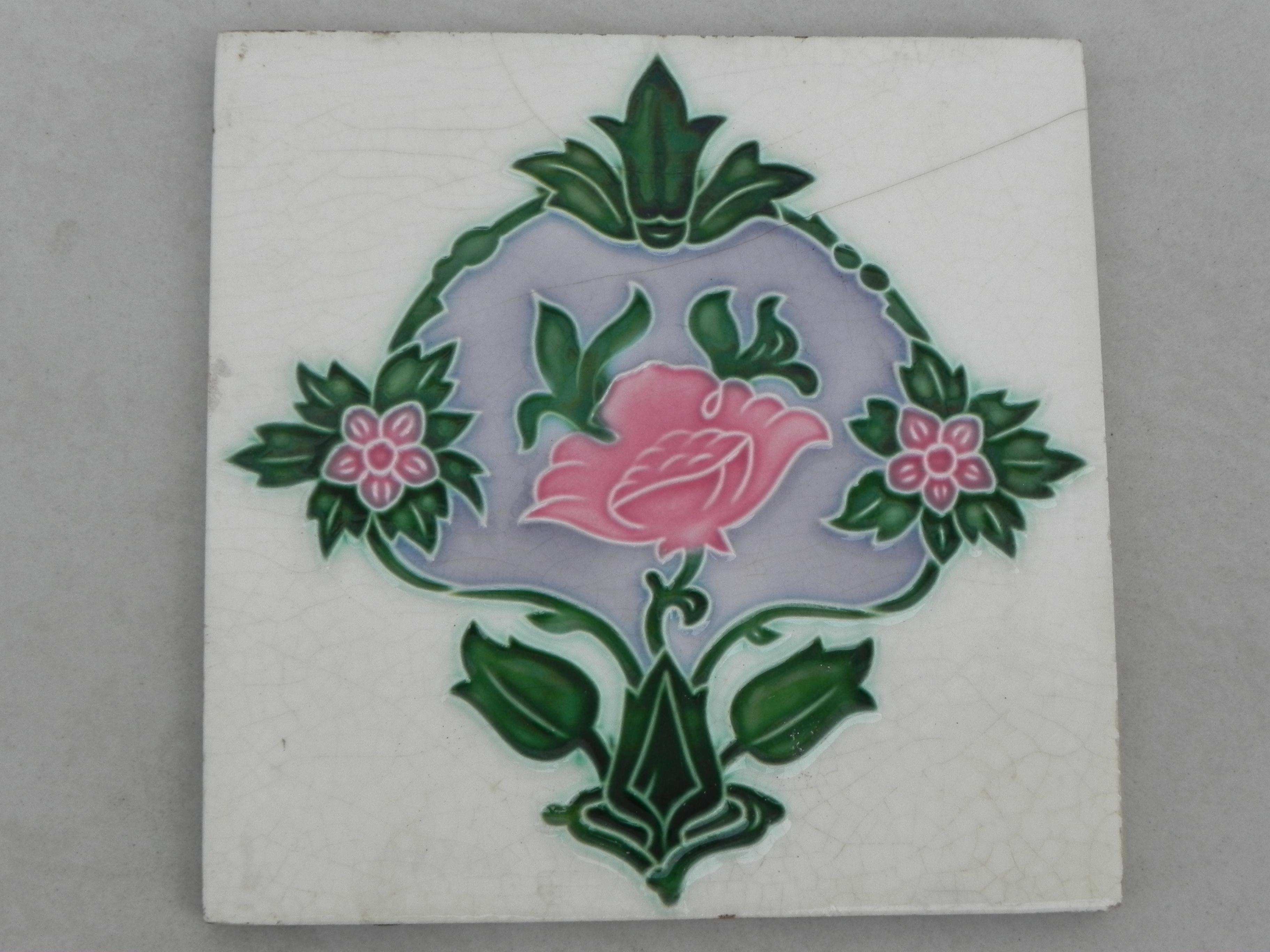 Cream Crackle Tile -1
