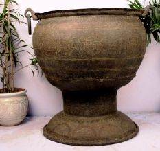 Bronze Planter-Height 33.5 X 33.5 Inches