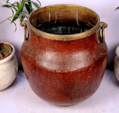 Bronze Planter-21.25 X 19.75 Inches