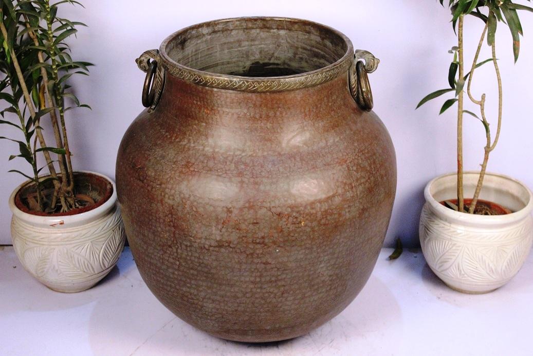 Bronze Planter-28 X 26.5 Inches