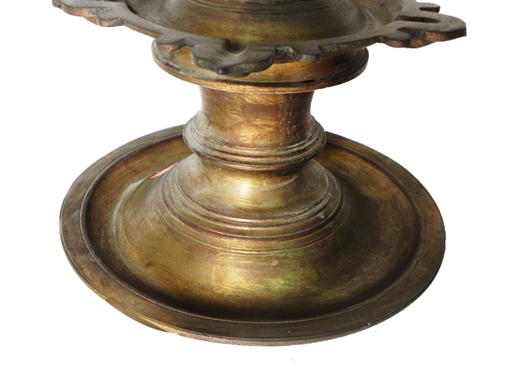 Vintage Oil Lamp-26 (Ht-18.5 Inches)