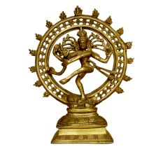 Brass Natraj (ht-9.25 Inches)