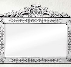 Over mantle Venetian Mirror-31 inches X 39 inches