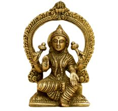 Brass Laxmi (Ht-5.1 Inches)