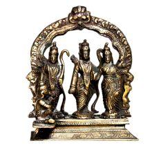 Brass Ram Darbar (Ht-5.1 Inches)