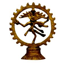 Brass Natraj (Ht-4.7 Inches)