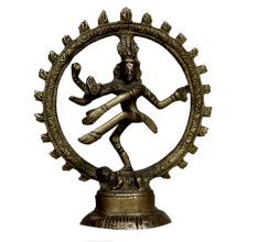 Brass Natraj (ht-3.9 Inches)