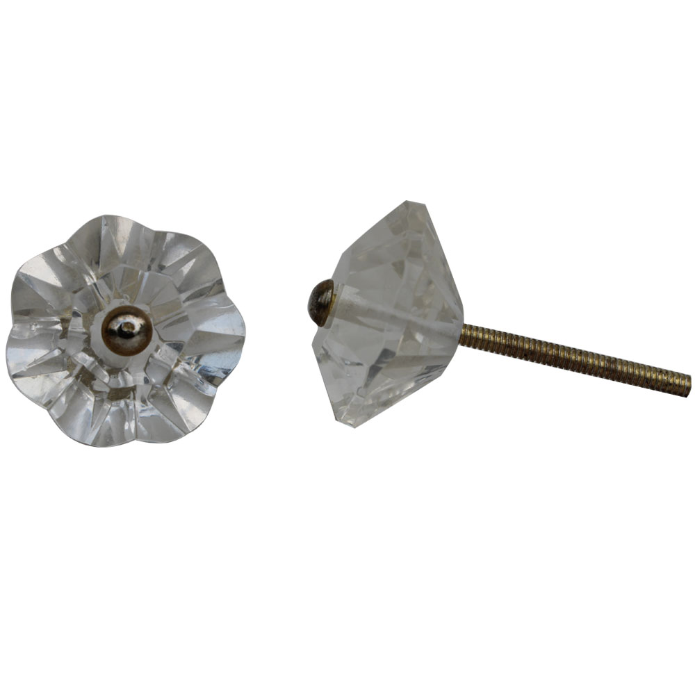 Diamond Clear Knob