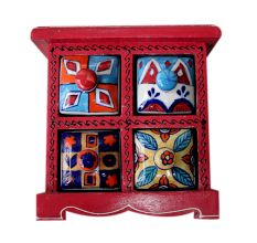 Spice Box-537 Masala Rack Container Gift Item