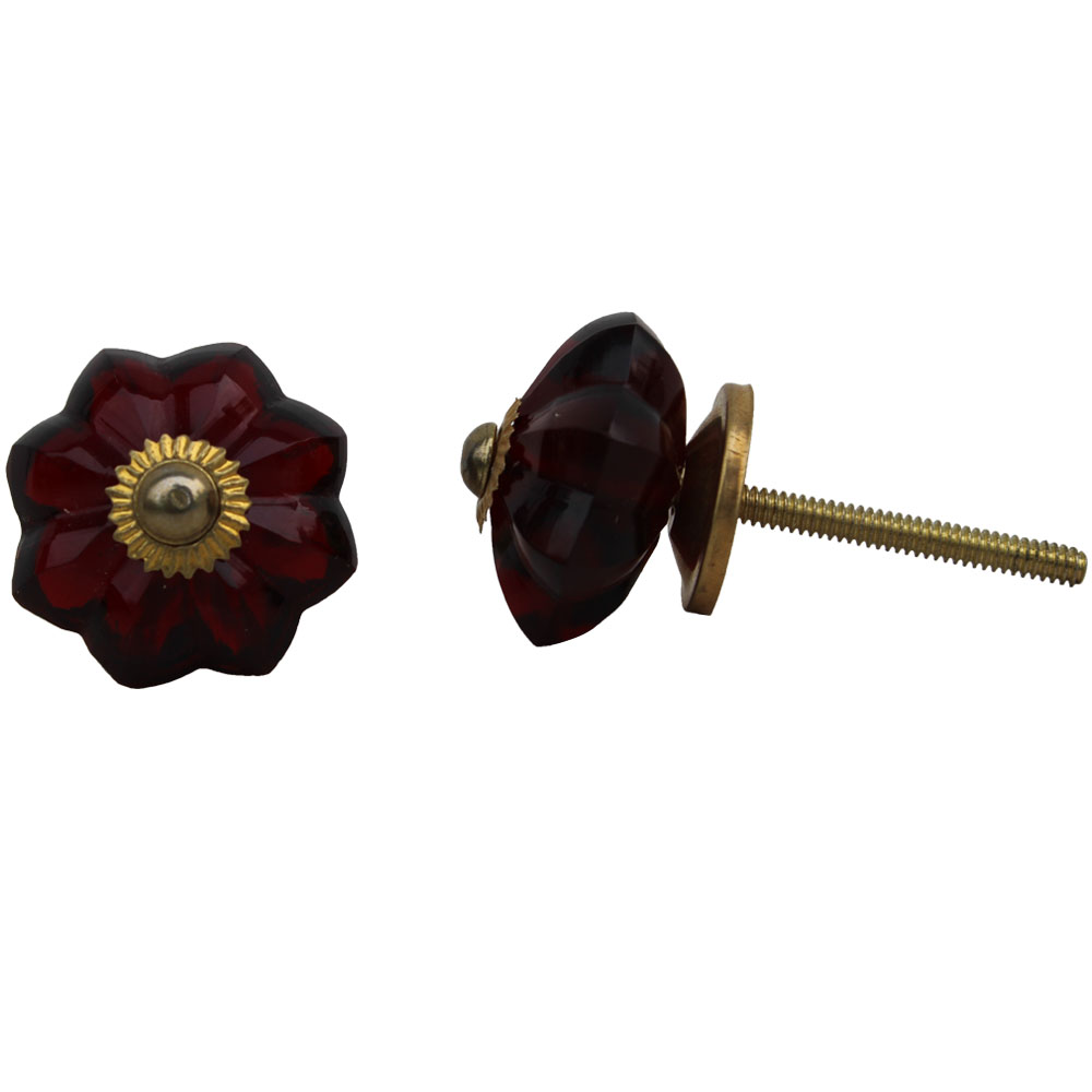Dark Red Knob, Small