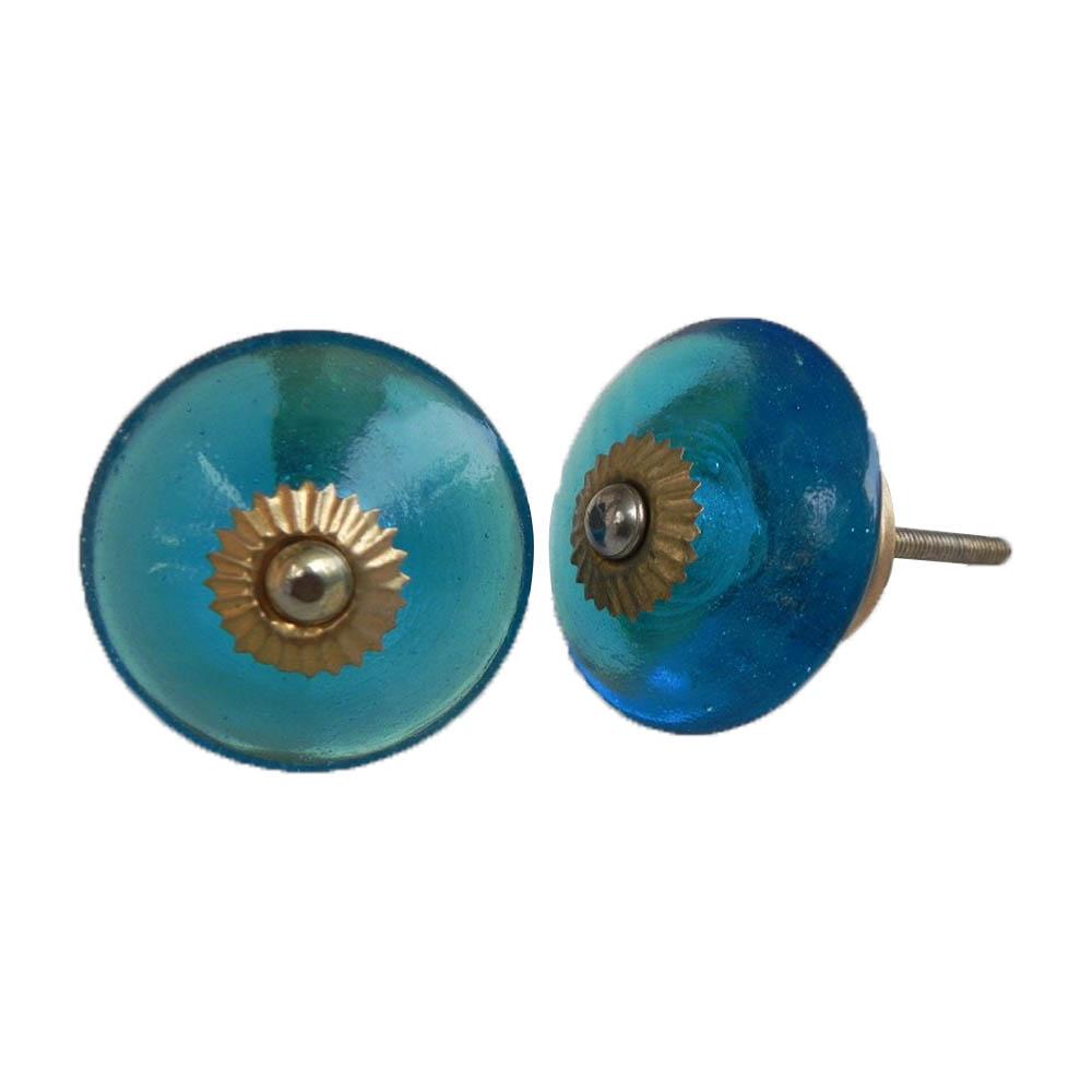 Royal Blue Wheel Knob