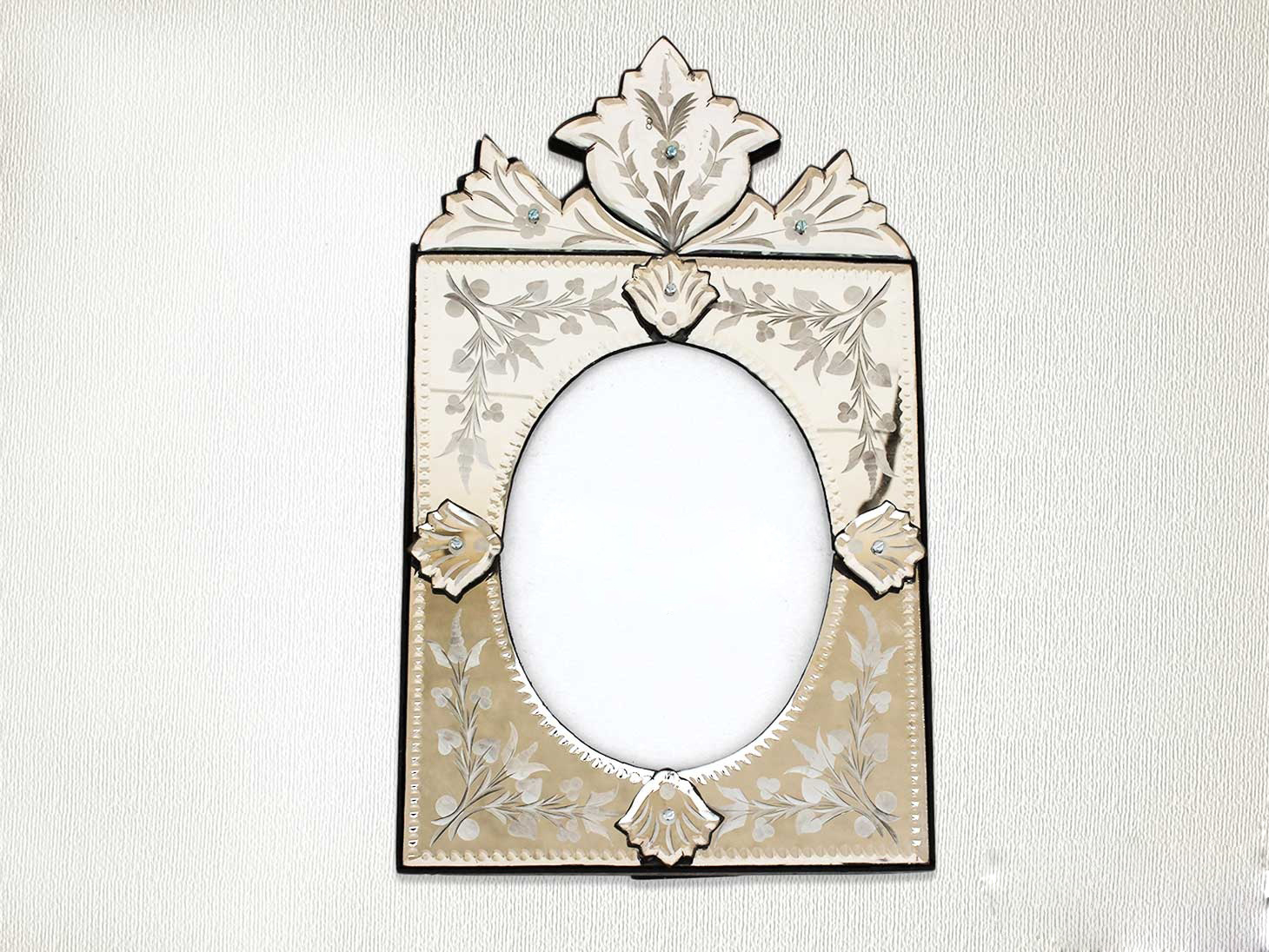Vintage Venetian Photo Frame-16.75 inches X 10.25 inches