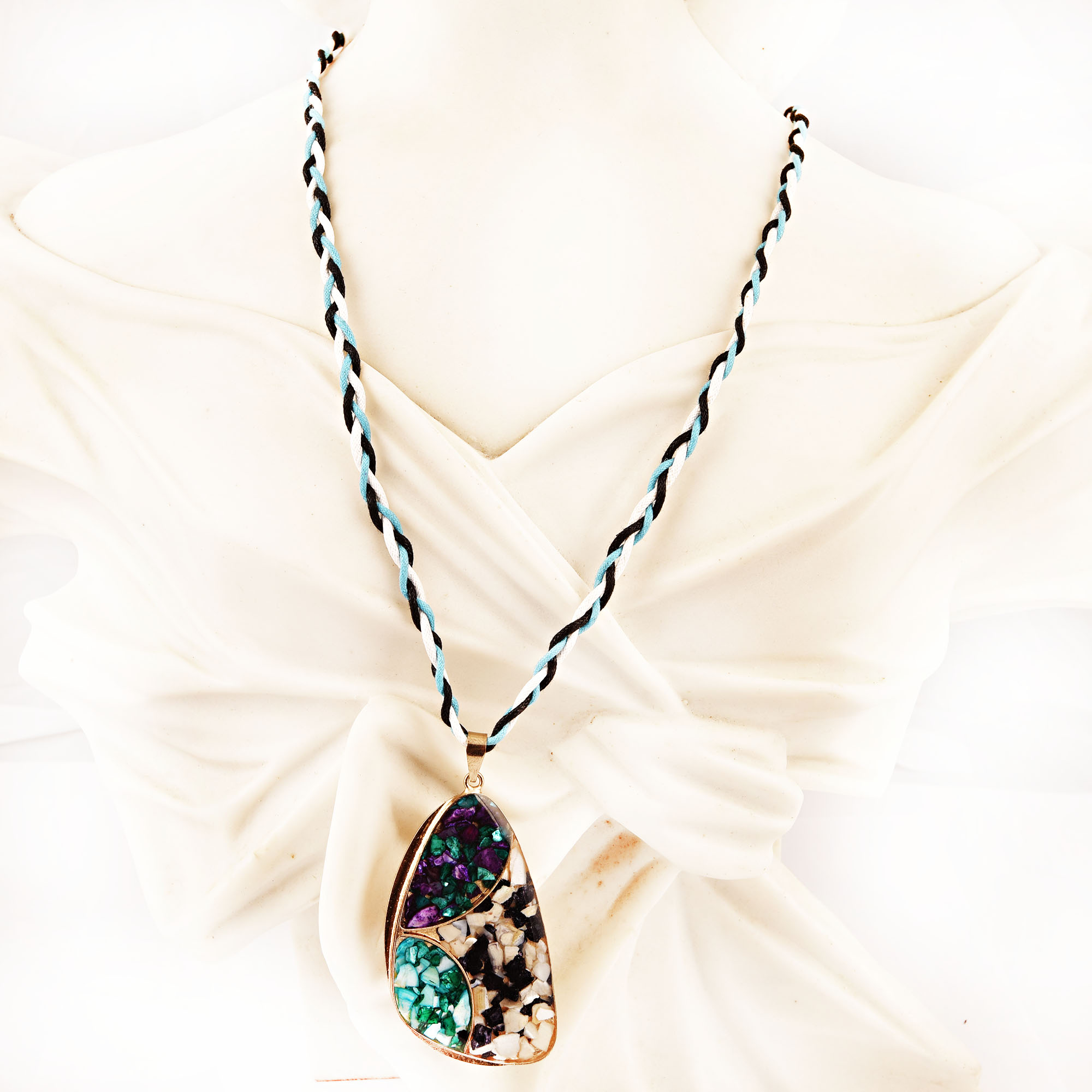 tropical necklace beautiful jewellery acrylic dusk gift statement product
