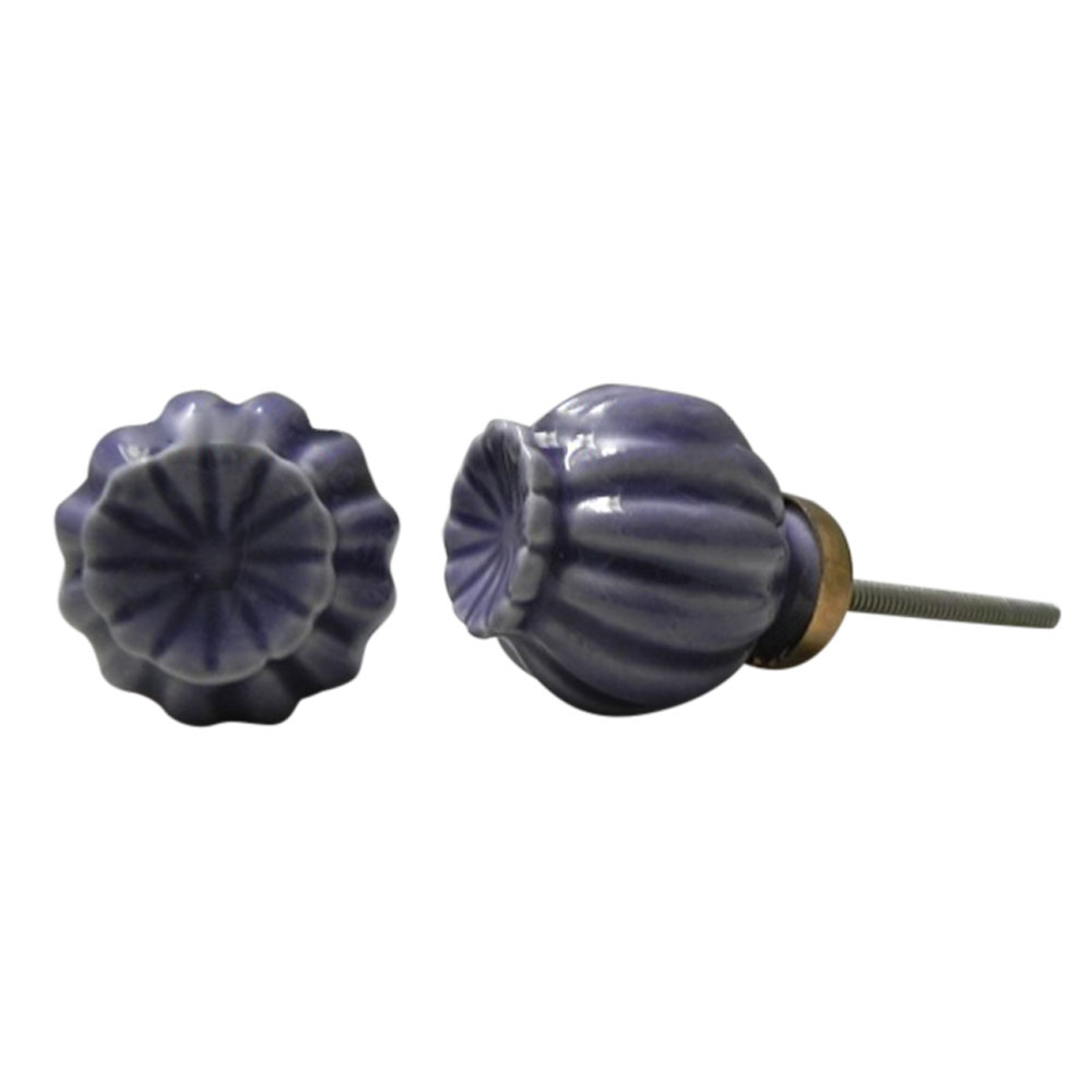 Purple Umbrella Knob