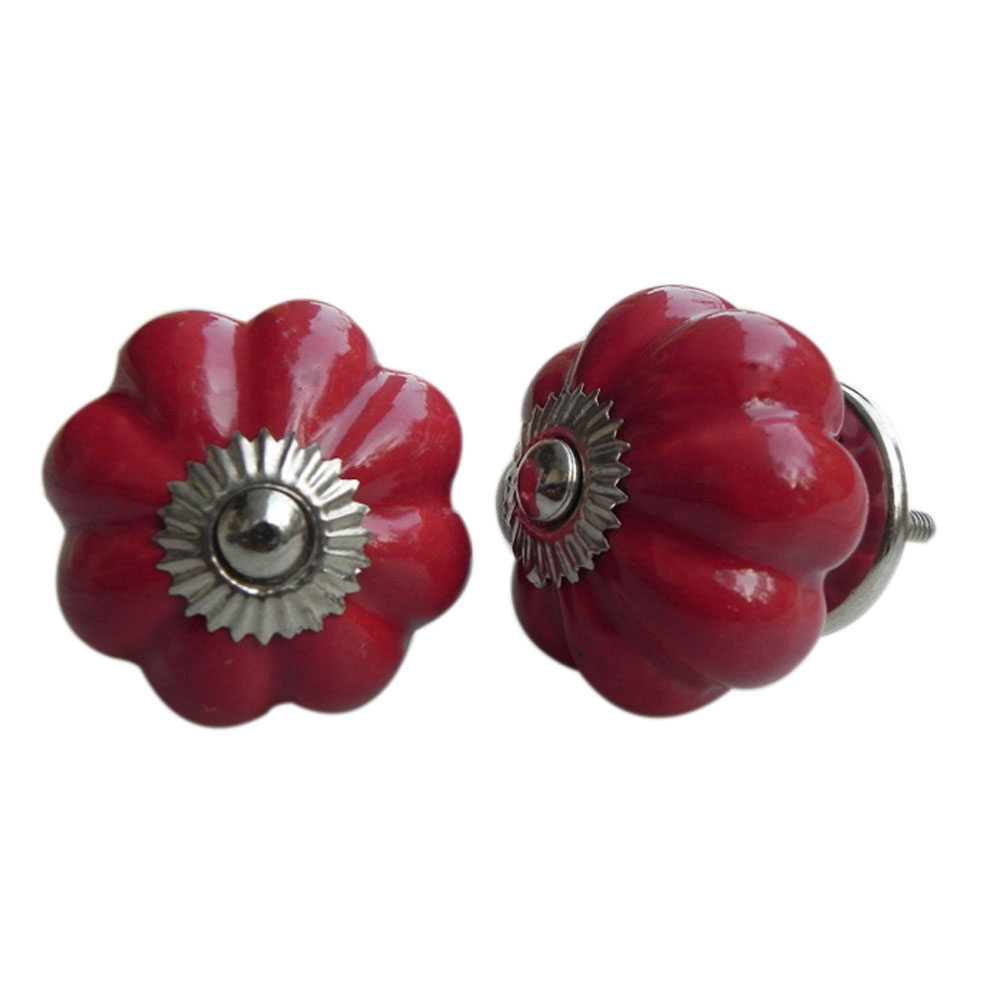 Blood Red Solid Knob