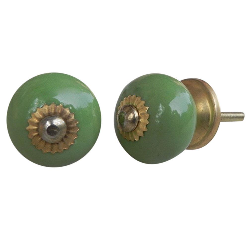 Pea Green Knob (Small)