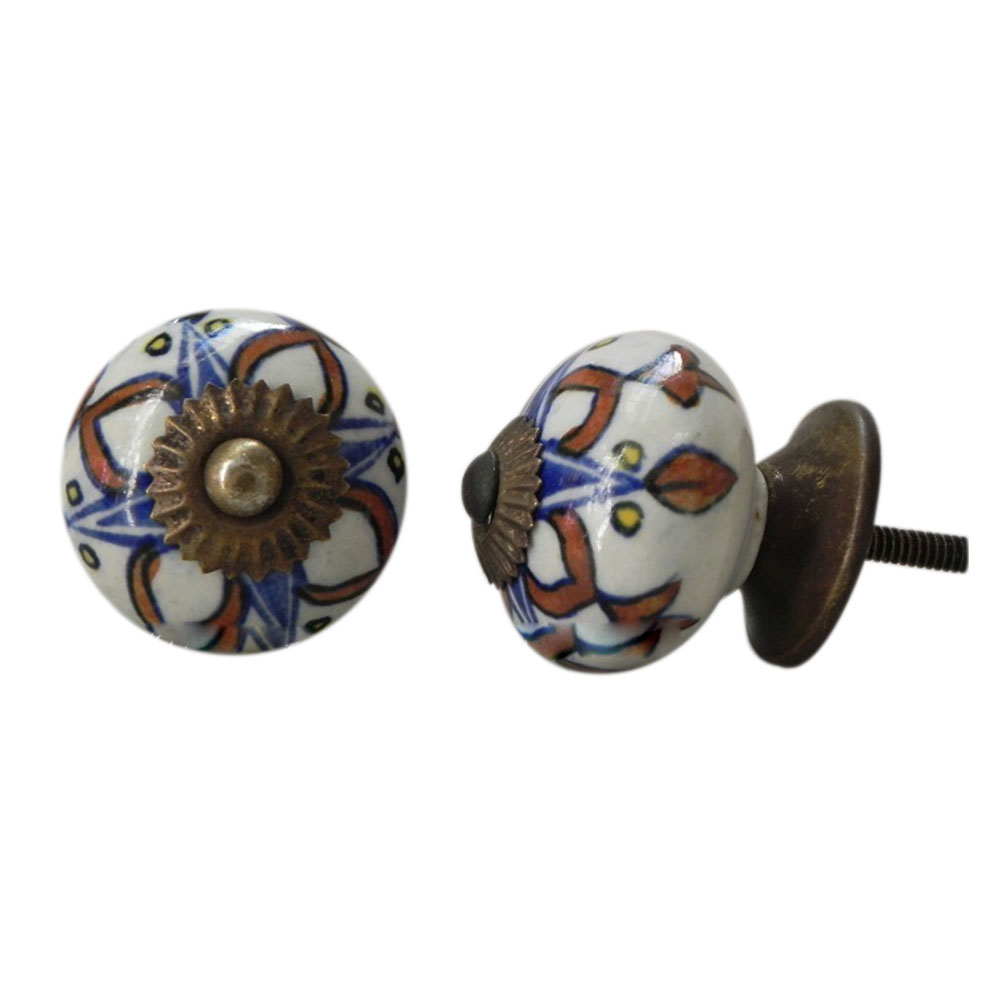 Necklace Ceramic Knob