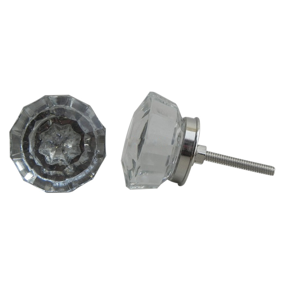 Radiant Diamond Cabinet Knob