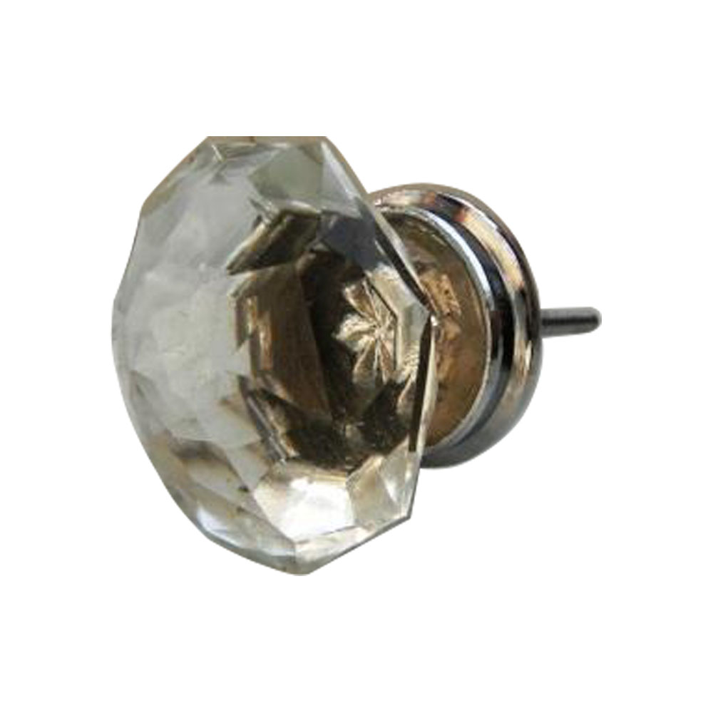 Radiant Glass Drawer Knob Big