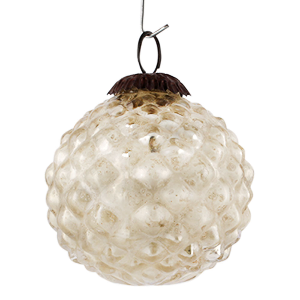 Silver Custard Apple Christmas Hanging Online