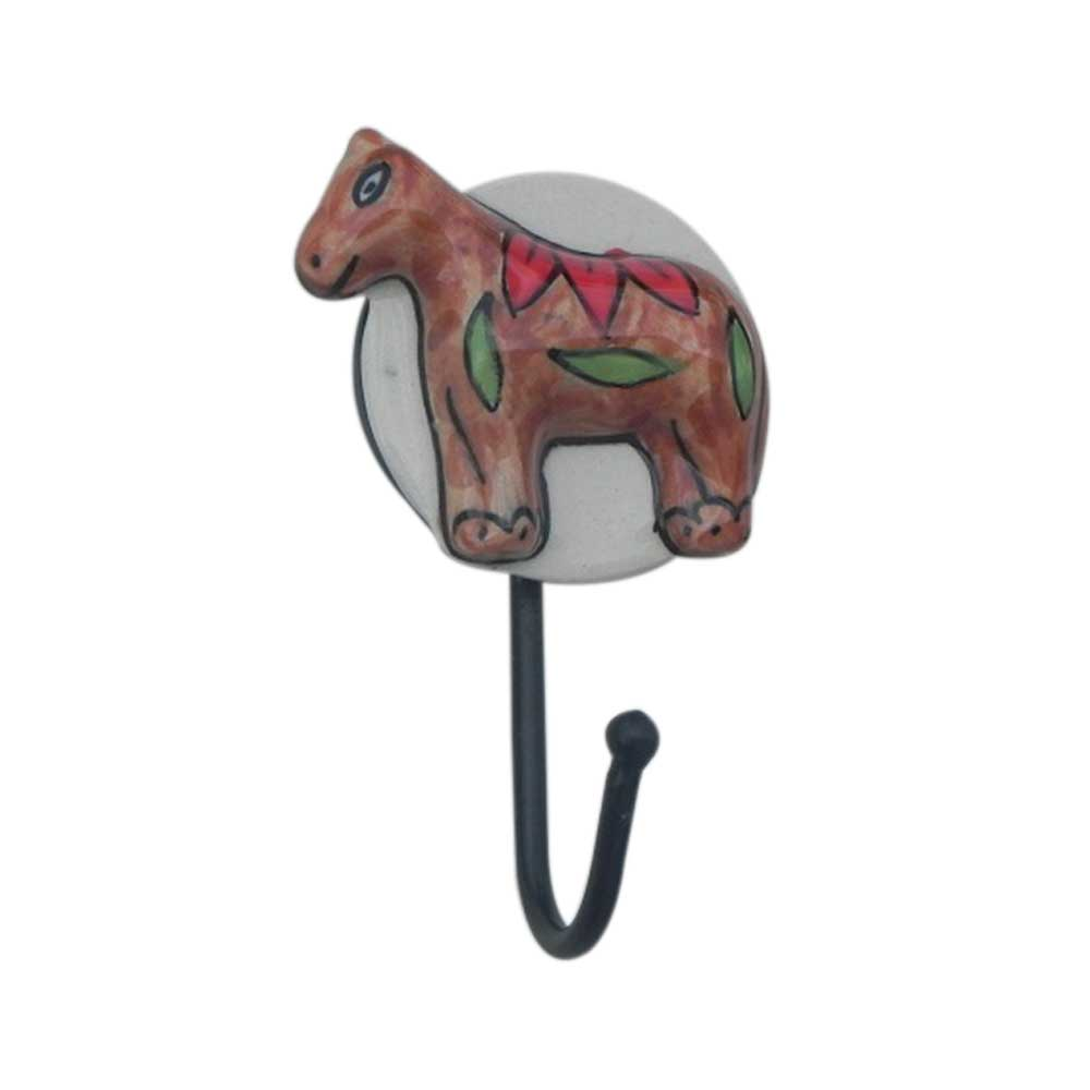 Horse Ceramic Hooks
