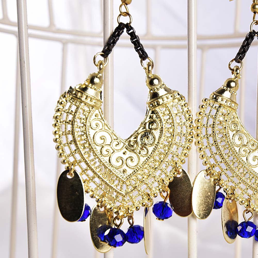Style elegant chandelier women earrings indian style elegant chandelier women earrings arubaitofo Image collections