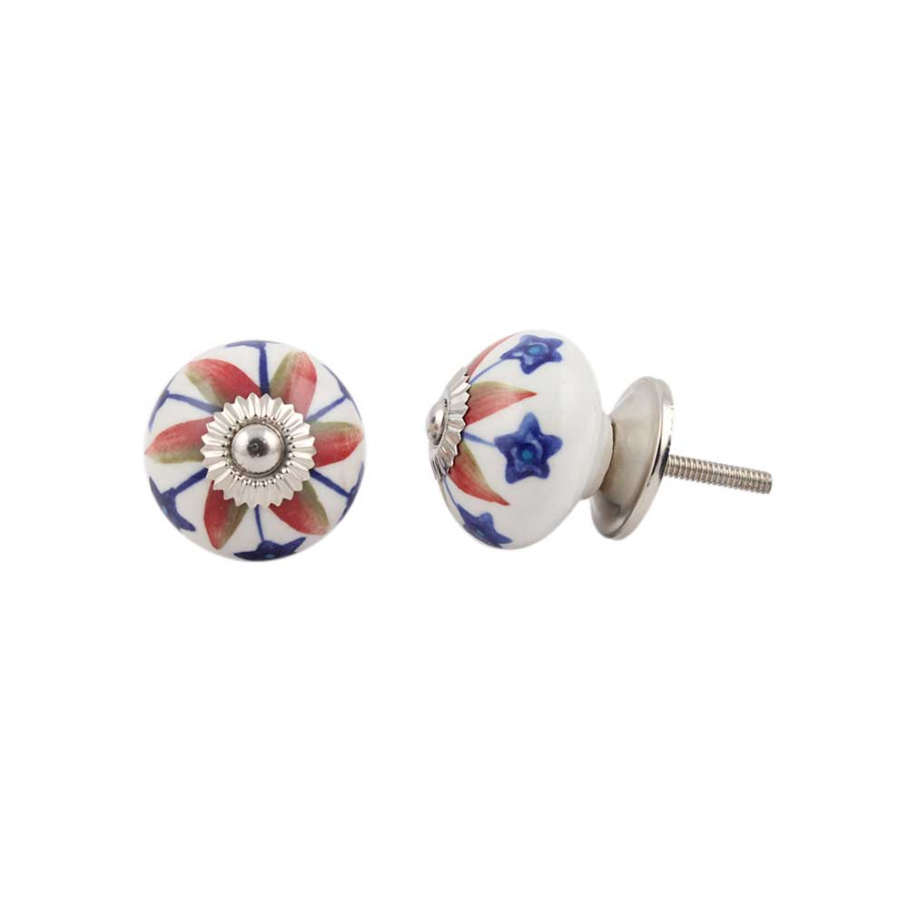Red Star Ceramic Drawer Knob Online