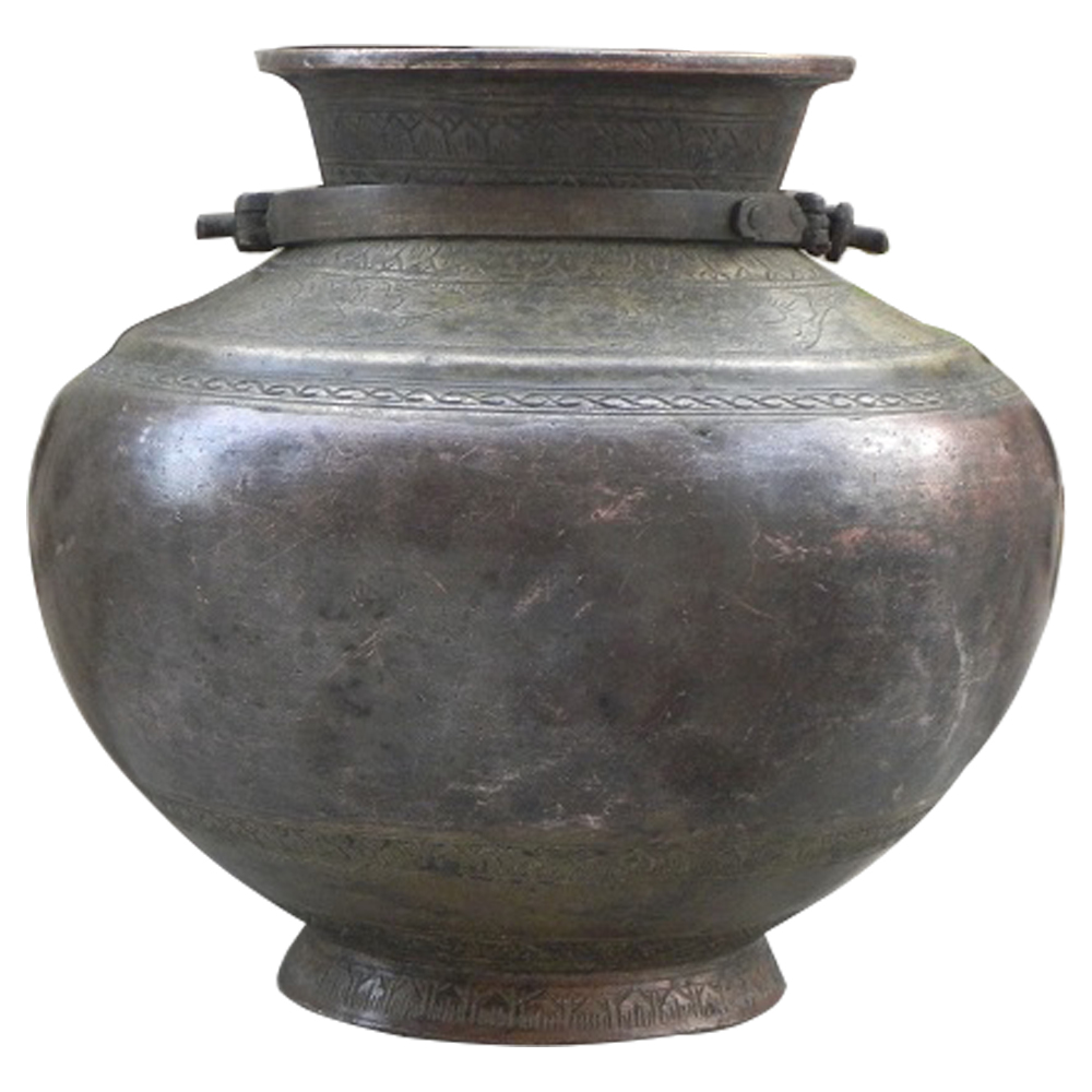 Bronze Handcrafted Holy water Pot
