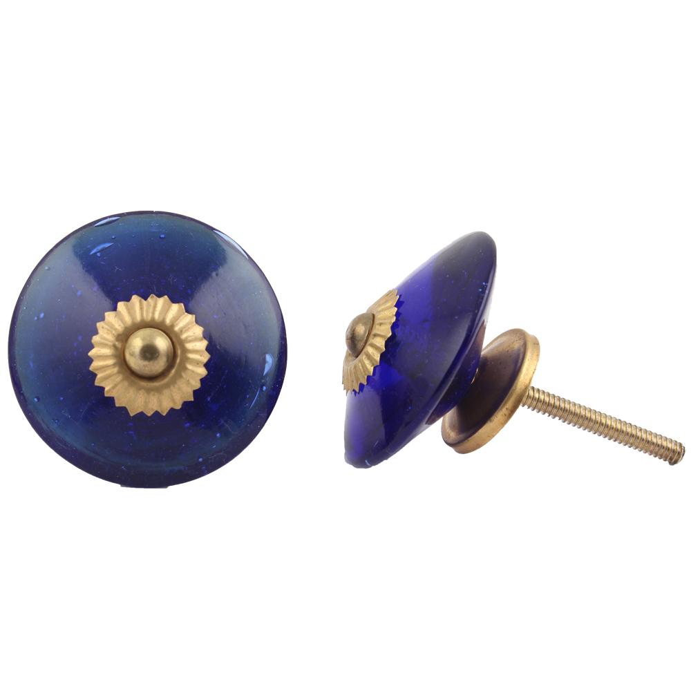 Navy Wheel Knob