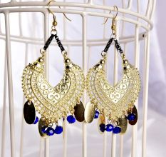 Indian Style Elegant Chandelier Women Earrings