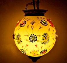 Yellow Flower Lamp