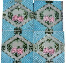 Pink Rose Flower Tile -2