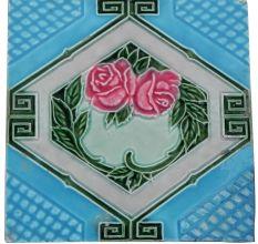 Dark Pink Rose  Tile
