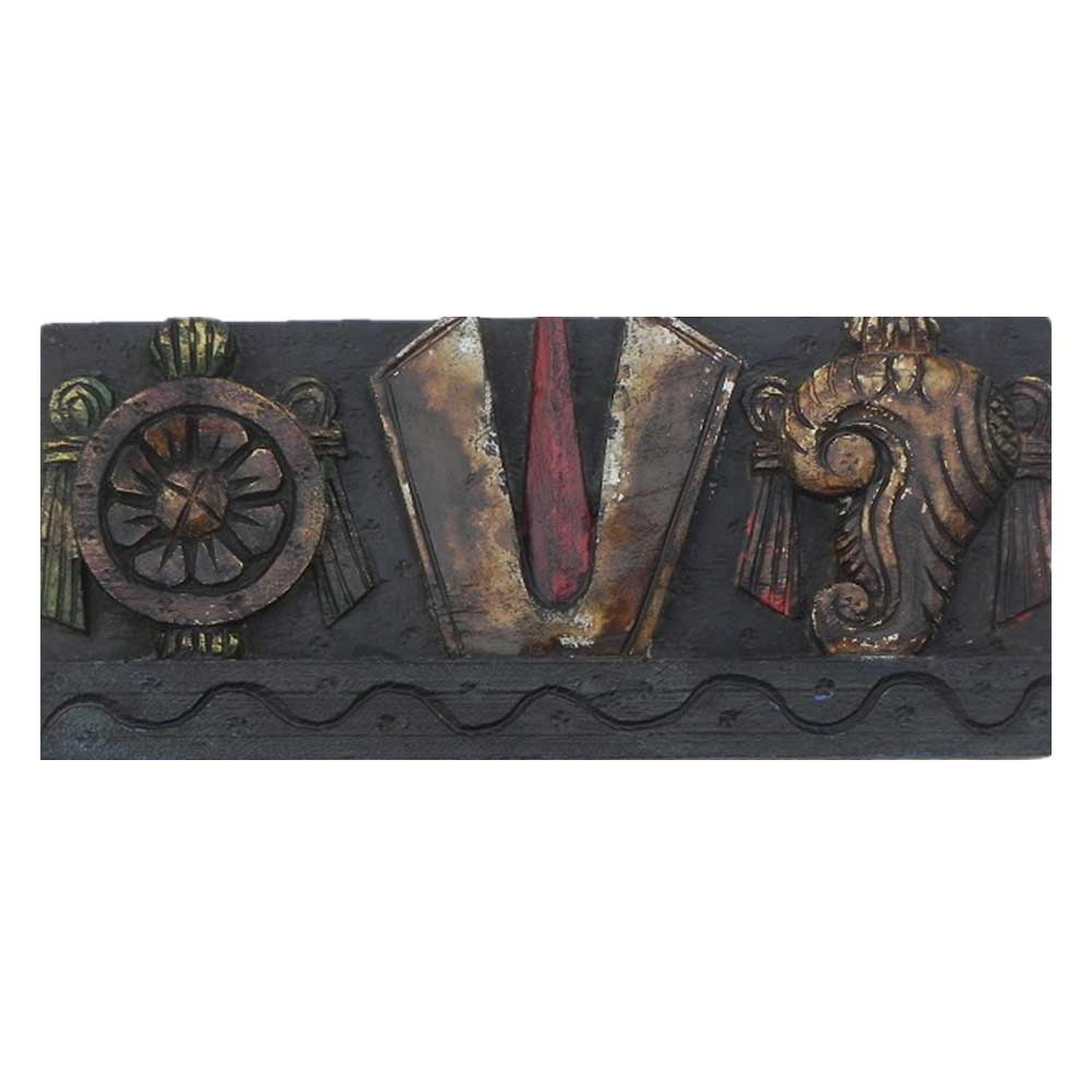 Vishnu Symbol Wall Hanging-01