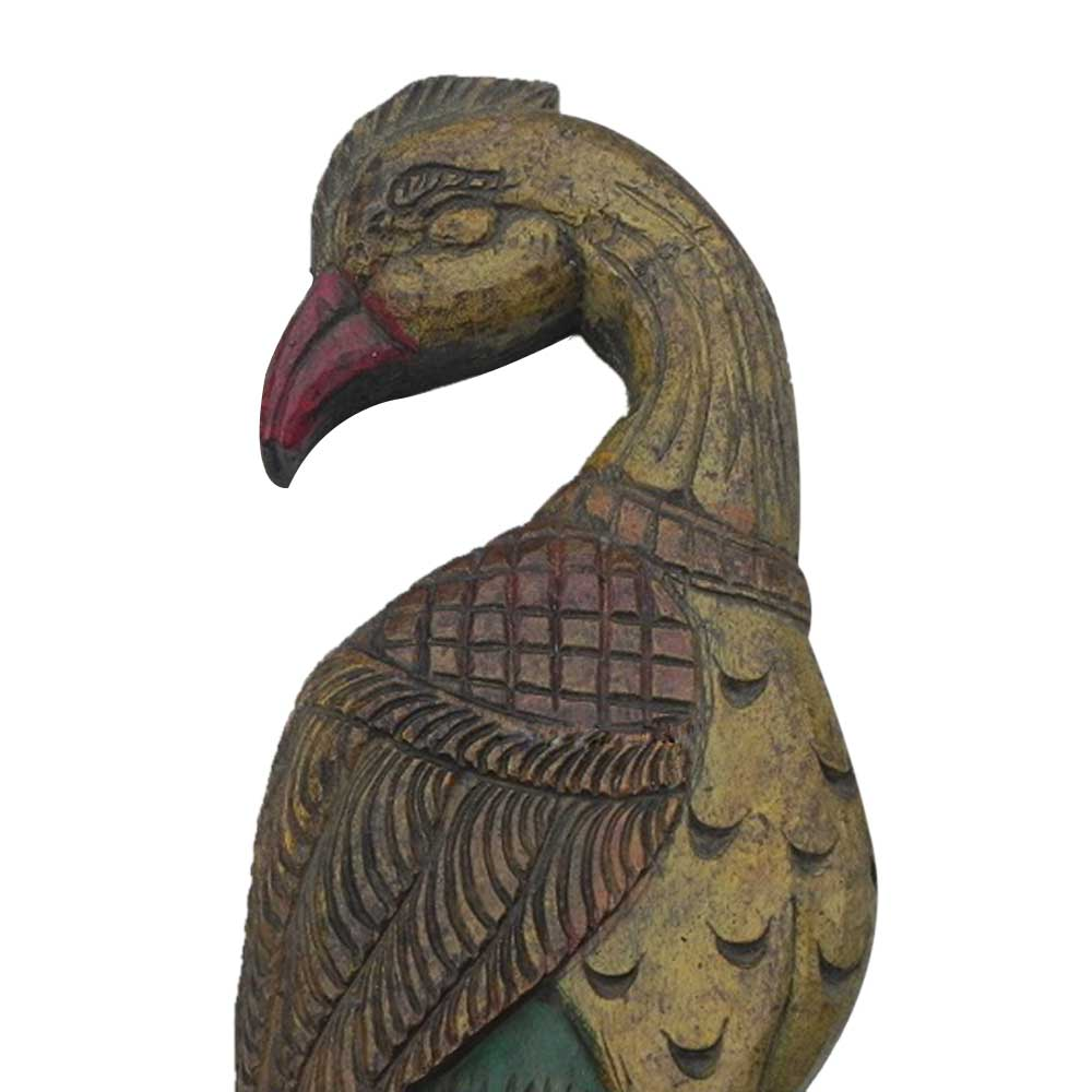 Peahen Wall Hanging-03