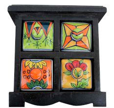 Spice Box-557 Masala Rack Container Gift Item