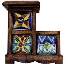 Spice Box-612 Masala Rack Gift Item