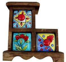 Spice Box-618 Masala Rack Gift Item