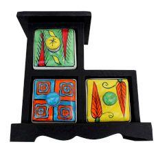 Spice Box-622 Masala Rack Gift Item