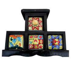Spice Box-651 Masala Rack Container Gift Item