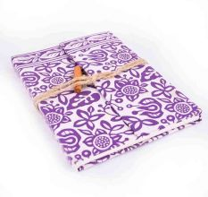 Purple Designer Handmade Diaries/ Notebook