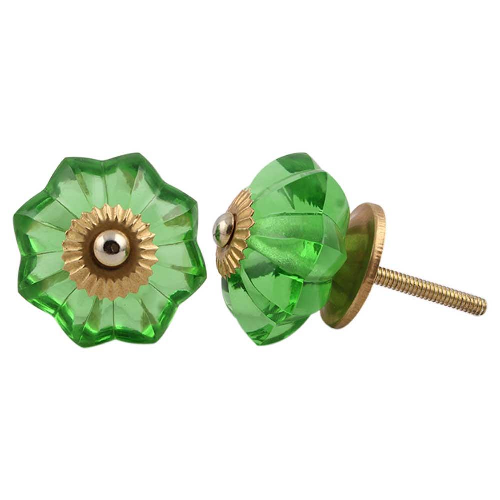 Smooth Green Knob