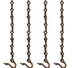 Brass swing chain bronze antique