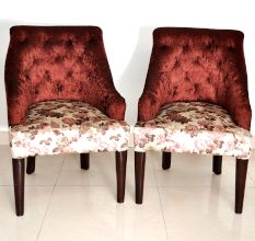 Pair of Designer Bedroom Chair